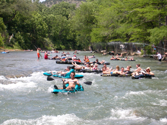 Guadalupe River Tubing, Float Trips on Inner Tubes, Tube Rentals